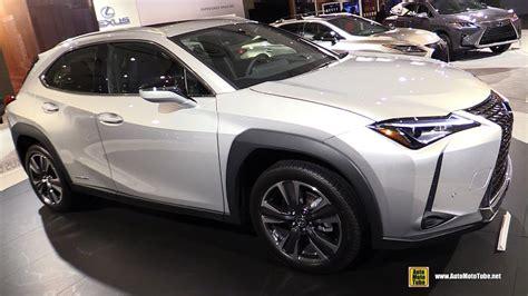 lexus uxh hybrid exterior  interior