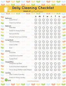 Weekly House Cleaning Checklist (with images) · jessgerald