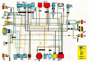 Wiring Diagram 1985 Honda Goldwing 1200a  Honda  Auto