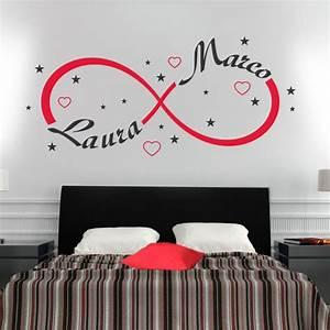 Wall Sticker Adesivo Muro Simbolo Infinito Amore Gigio Store