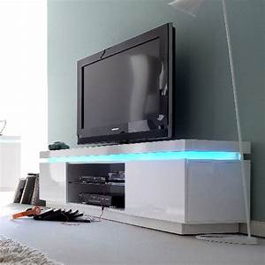 Tv Lowboard Led : sonia tv stand in white high gloss with glass and led 19631 ~ Whattoseeinmadrid.com Haus und Dekorationen