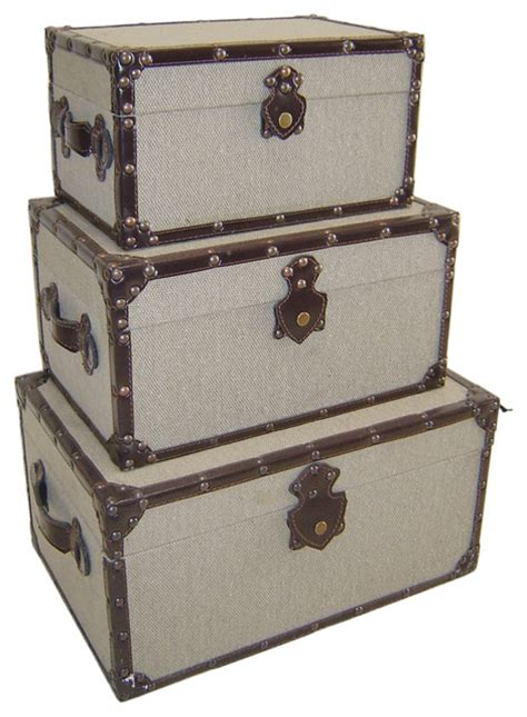 cheungs decorative treasure chest set of 3 wooden fp 3028