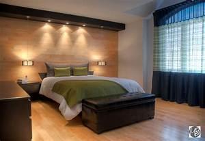 Decoration mur interieur chambre home design nouveau et for Chambre à coucher adulte moderne avec huisserie fenetre bois