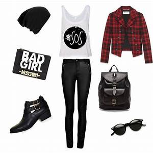 """""""BAD GIRL STYLE"""" by #liveeverymoment91 on Polyvore 