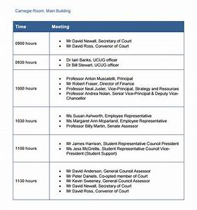 8 useful business itinerary templates to download sample With itenary template