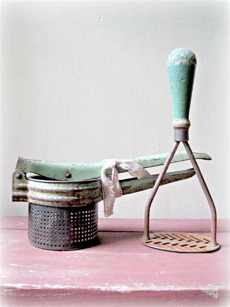 green kitchen gadgets 1000 images about flea market utensils on 1412