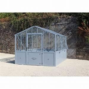 Serre Acier Verre : mini serre verre perfect serre de jardin en verre tremp ~ Premium-room.com Idées de Décoration