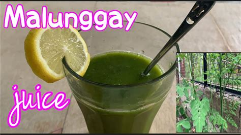 juice moringa drink malunggay