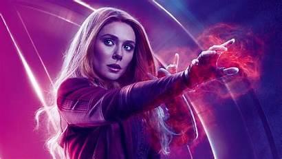 Avengers Endgame Desktop Scarlet Witch Olsen Elizabeth
