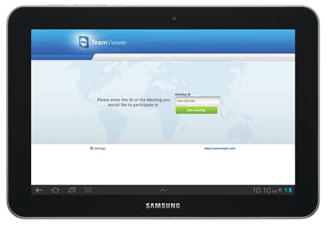 teamviewer android teamviewer meeting for android