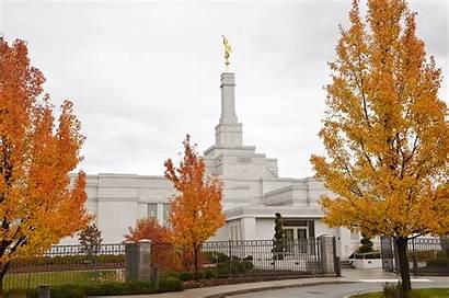 Spokane Temple Washington Lds Church Saints Fall