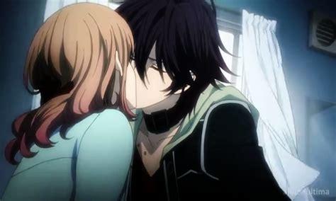 amnesia anime shin and heroine kiss post anime characters kissing anime answers fanpop