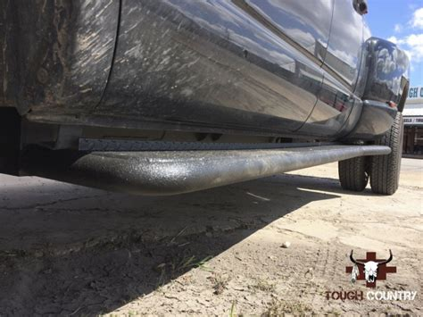 tough country deluxe full length dually running boards ford     cclb super duty