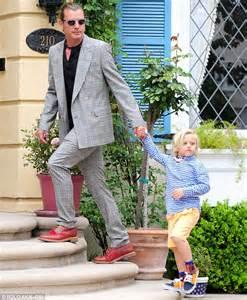 Gwen Stefani styles her dapper boys in the same suave