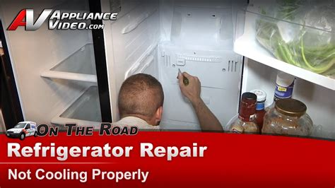 refrigerator repair diagnostic  cooling warm temperatures samsung rstdbpxaa youtube