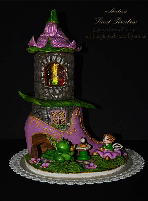 gingerbread fairy house cakecentralcom