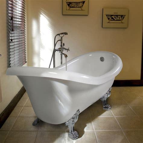 vasca per bagno vasca centro stanza per bagno classico con piedini kv store
