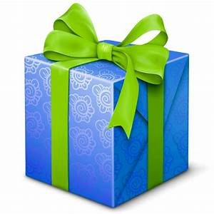 Blue, gift, present, welcome icon | Icon search engine