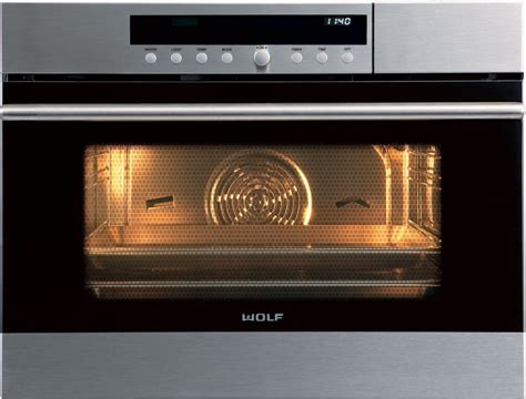 Wolf Cso24testh 24 Inch Steam Oven With 1.8 Cu. Ft