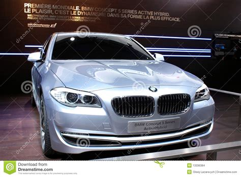 Bmw Concept 5 Series At Motor Show 2018 Geneva Editorial