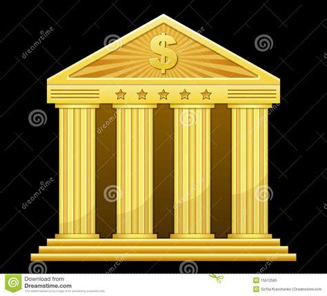 gold bank royalty  stock photo image