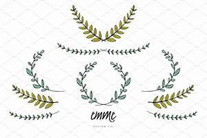 Vine Wreath Clipart Collection
