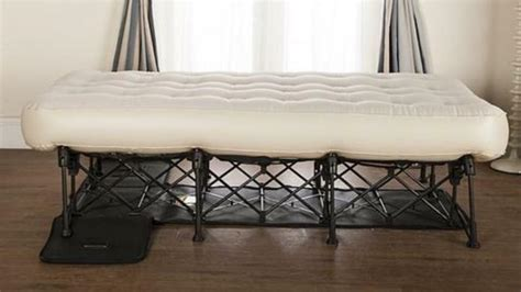 inflatable bed double matress boxed folding frame brand auto