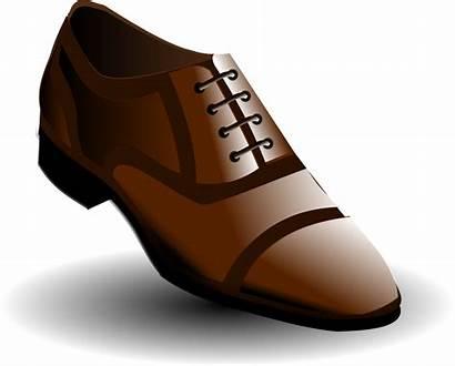 Clipart Shoe Brown Shoes Transparent Vector Clip