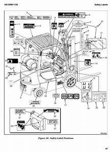 Hyster Diesel  Lpg Forklift L177 Series  H2 0ft  H40ft   H2