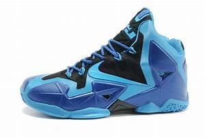 Lebron James 11 Blue Black Green Basketball Shoes Online ...