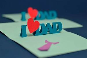easy fathers day pop up card template With creative pop up cards templates free