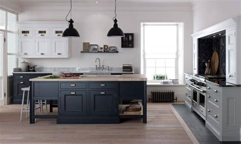 Milbourne Charcoal Painted Kitchen