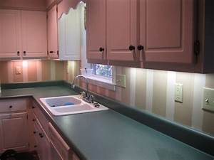 hand painted kitchen backsplash stripes my house With kitchen colors with white cabinets with hand stickers