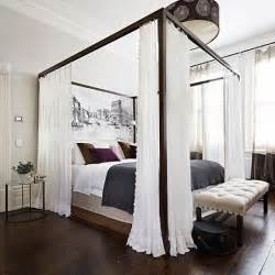 four bedroom white bedroom with four poster bed bedroom decorating housetohome co uk
