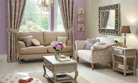 Classical Glamour Living Room Dunelm