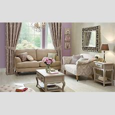 Classical Glamour Living Room  Dunelm