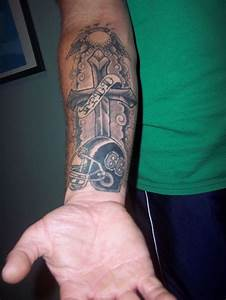43 best Football Forearm Tattoos images on Pinterest
