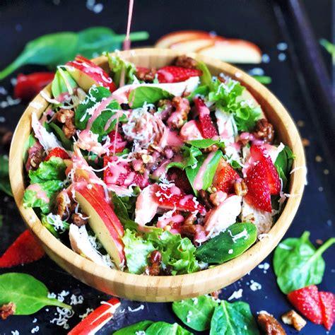 Zupas Copycat Strawberry Harvest Salad - Plum Street ...
