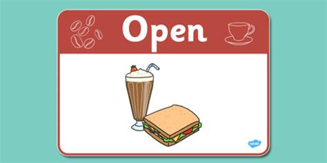 Cafe Open Sign  Cafe, Shop, Role Play, Open, Closed, Opening. Neck Cancer Signs. Social Anxiety Signs. Sick Signs Of Stroke. Autism Spectrum Disorder Signs. Trials Signs Of Stroke. Peace Signs Of Stroke. Symptom Postpartum Depression Signs. Positivity Signs