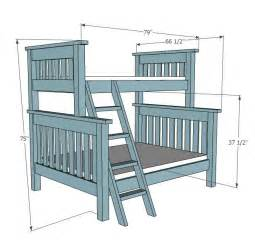 pdf woodwork twin over queen bunk bed plans download diy