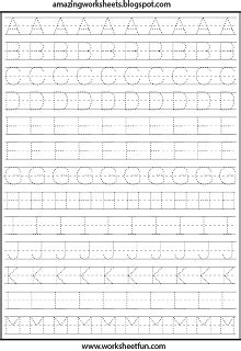 printable worksheets  preschool kindergarten st