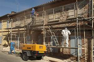 Prix du sablage d une façade au m2