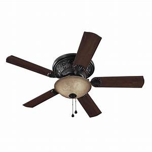 Harbor breeze in specialty bronze ceiling fan with