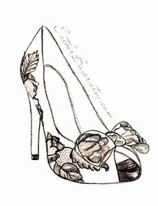how to draw fashion illustration shoes | High Heel Shoe ...