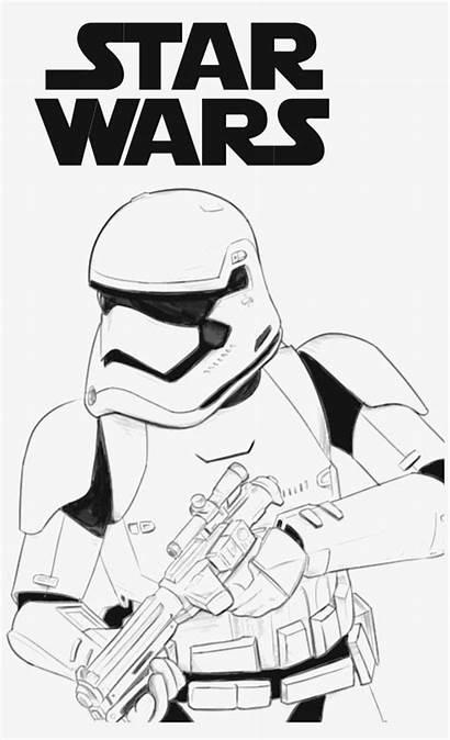 Stormtrooper Coloring Wars Star Order Pages Trooper