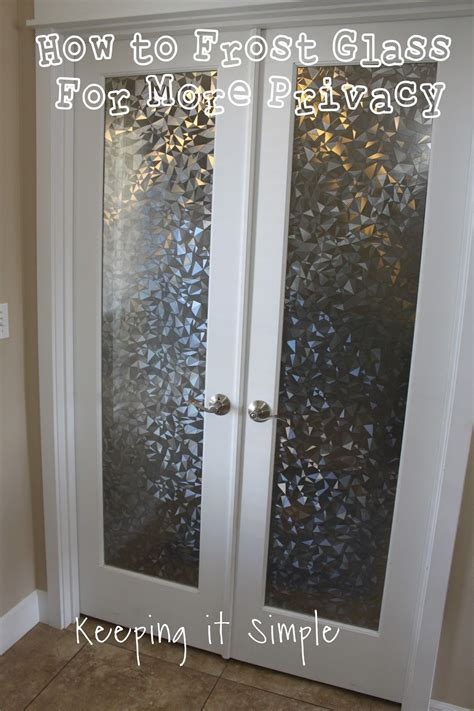 frost glass  vinyl   privacy keeping