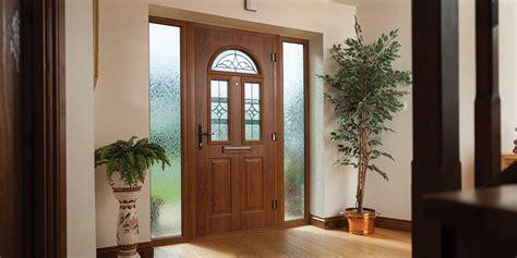 Wood Back Door With Window by Composite Doors Composite Front Back Doors From Clearview