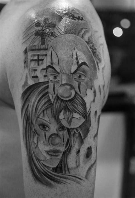33 best Ghetto Clown Tattoos images on Pinterest | Clown tattoo, Female tattoos and Chicano