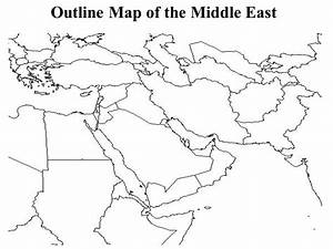 Middle East Map Blank | My blog