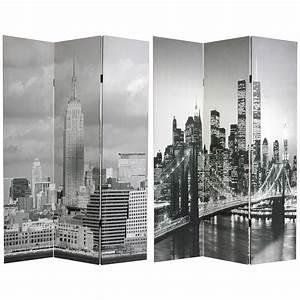 6, Ft, Tall, New, York, Scenes, Room, Divider